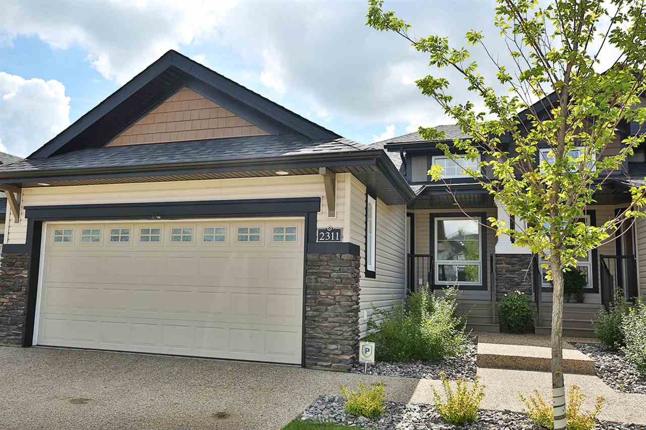 Main Photo: 2311 ASHCRAFT Cape in Edmonton: Zone 55 House Half Duplex for sale : MLS® # E4076344