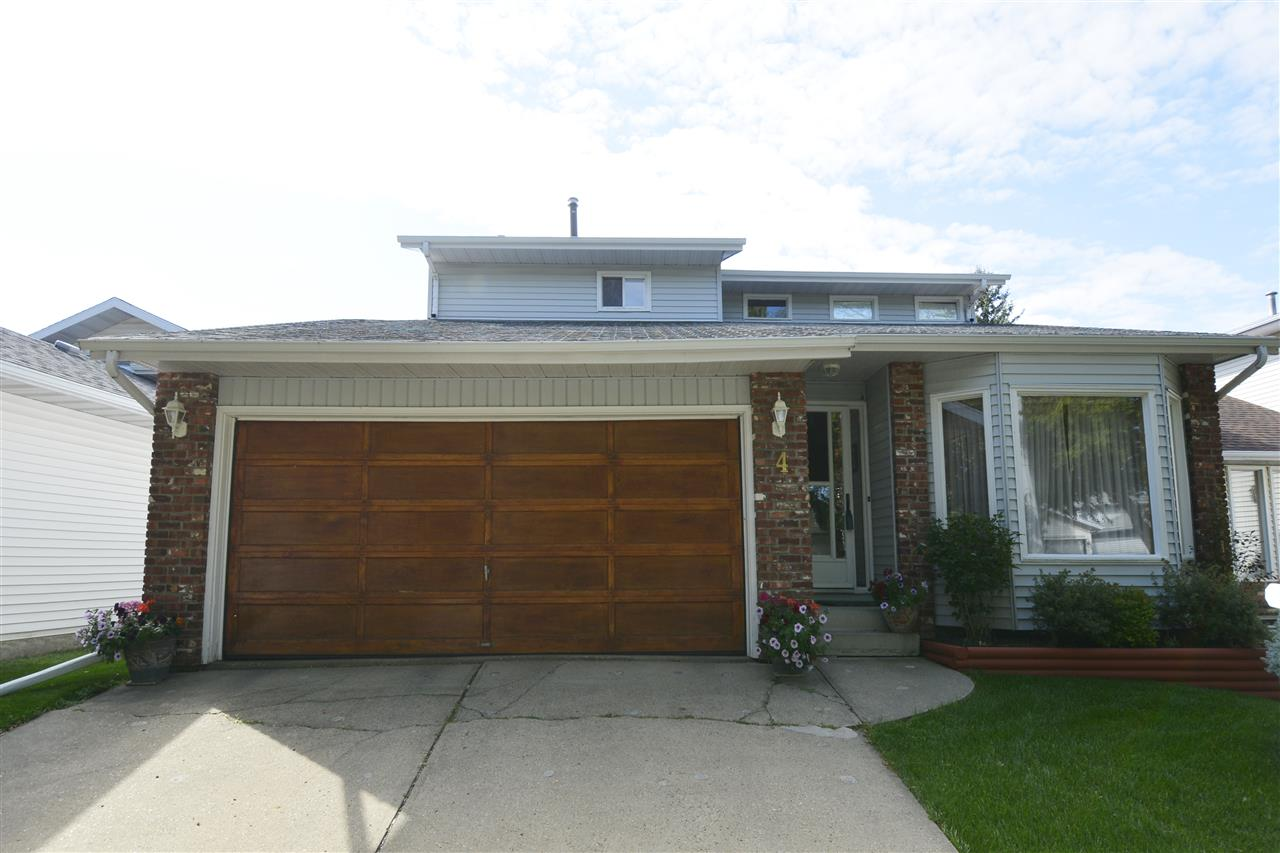 Main Photo: 4 LEPINE Place: St. Albert House for sale : MLS® # E4078298