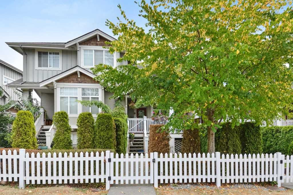 "Main Photo: 70 14877 58 Avenue in Surrey: Sullivan Station Townhouse for sale in ""REDMILL"" : MLS® # R2201241"