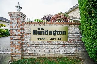 "Main Photo: 108 5641 201 Street in Langley: Langley City Townhouse for sale in ""Huntington"" : MLS®# R2210746"