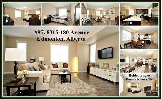 Main Photo: 97 8315 180 Avenue in Edmonton: Zone 28 Townhouse for sale : MLS® # E4090250