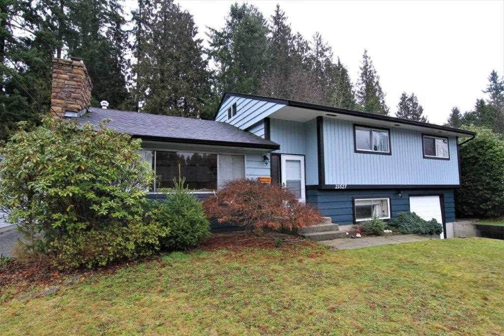 Main Photo: 21527 123 Avenue in Maple Ridge: West Central House for sale : MLS®# R2238501