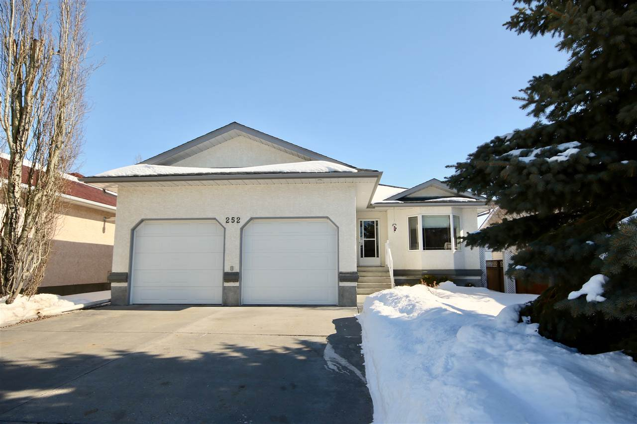 Main Photo: 252 Parkview Drive: Wetaskiwin House for sale : MLS®# E4100223