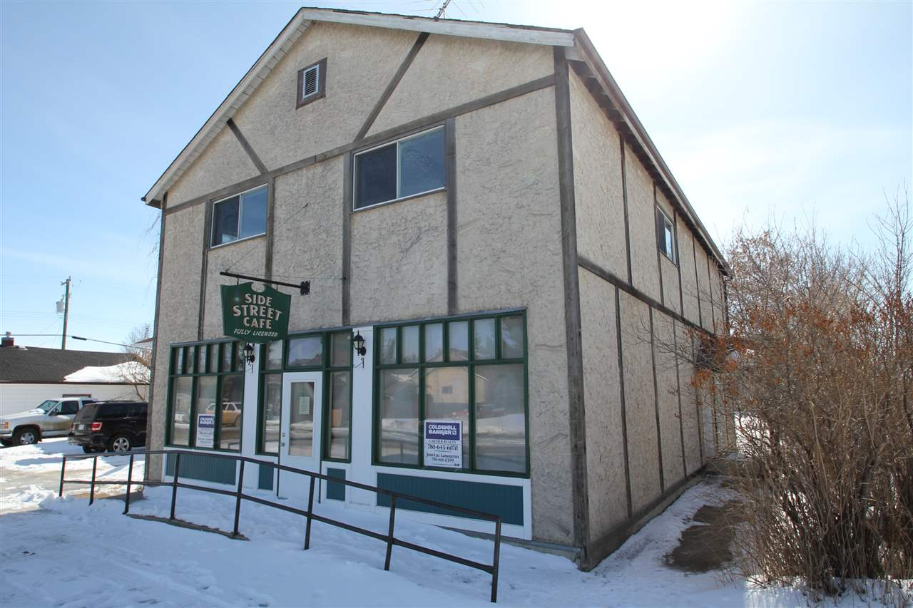 Main Photo: 5019 51: Vilna Business with Property for sale : MLS®# E4103411
