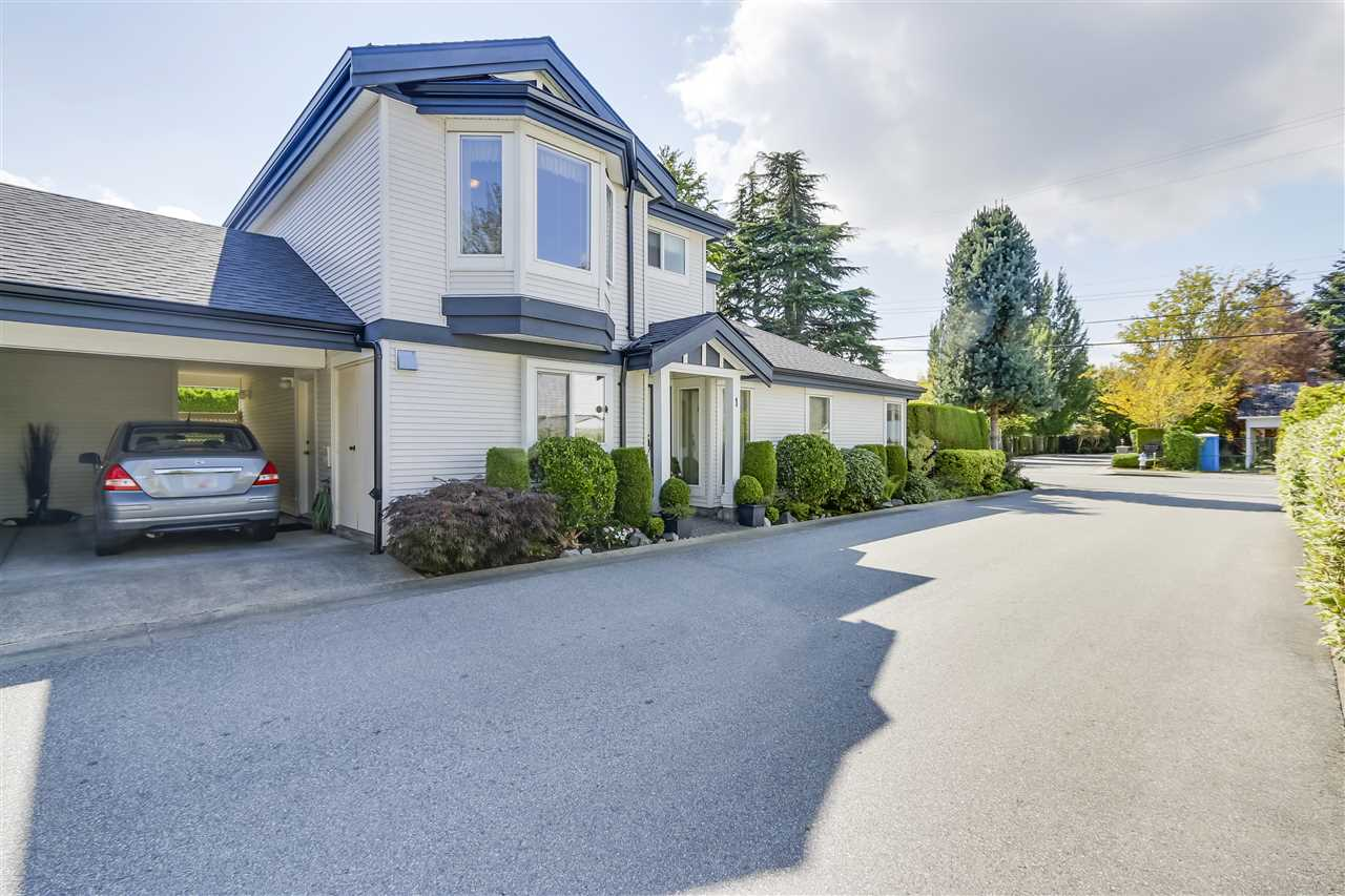 "Main Photo: 1 4748 54A Street in Delta: Delta Manor Townhouse for sale in ""ROSEWOOD COURT"" (Ladner)  : MLS®# R2302006"
