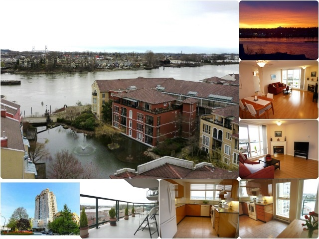 "Main Photo: 1001 10 LAGUNA Court in New Westminster: Quay Condo for sale in ""LAGUNA LANDING"" : MLS® # R2037865"