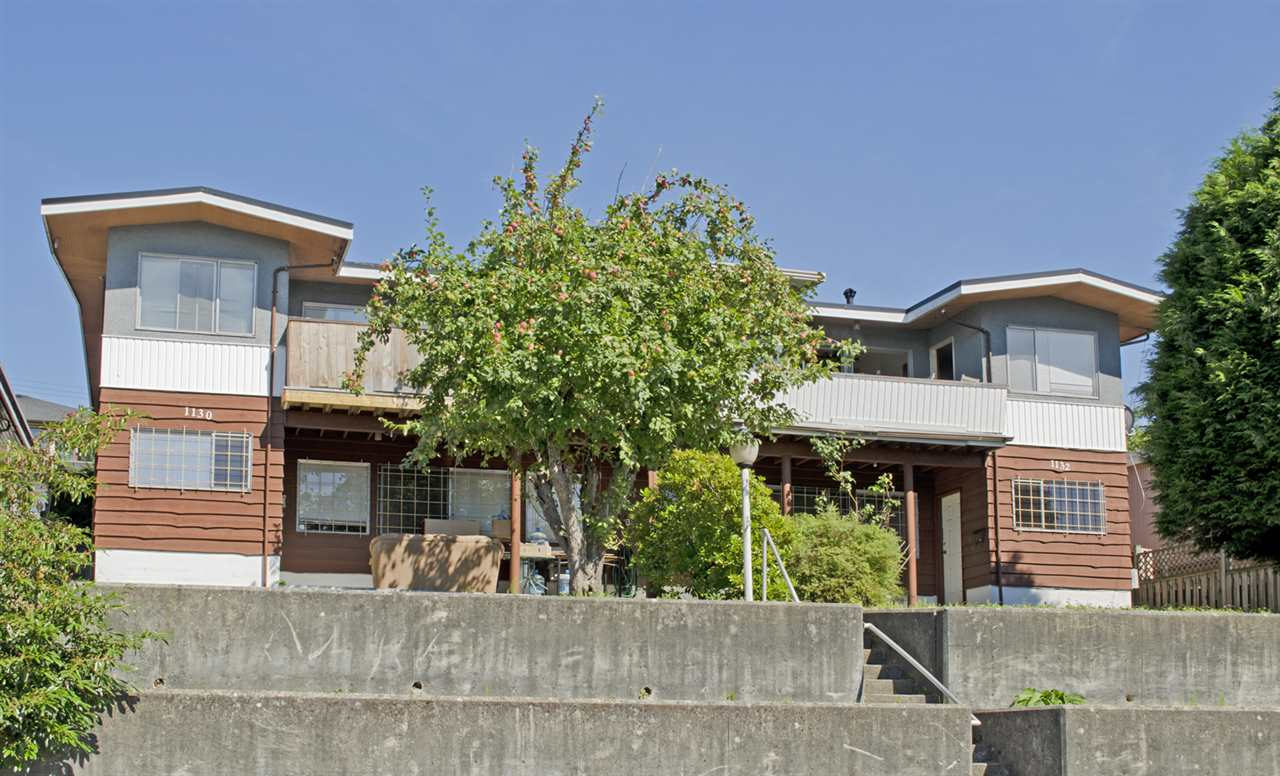Main Photo: 1130 HOLDOM Avenue in Burnaby: Parkcrest House Duplex for sale (Burnaby North)  : MLS® # R2087614