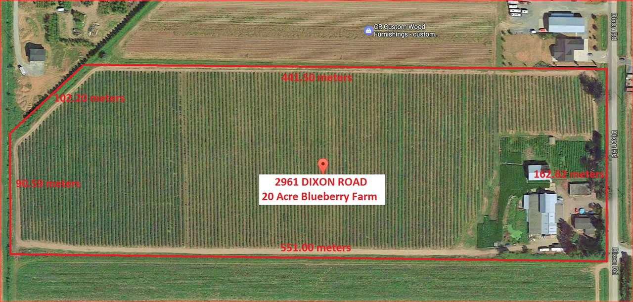 Photo 1: Photos: 2961 DIXON Road in Abbotsford: Sumas Prairie Agri-Business for sale : MLS® # C8011233
