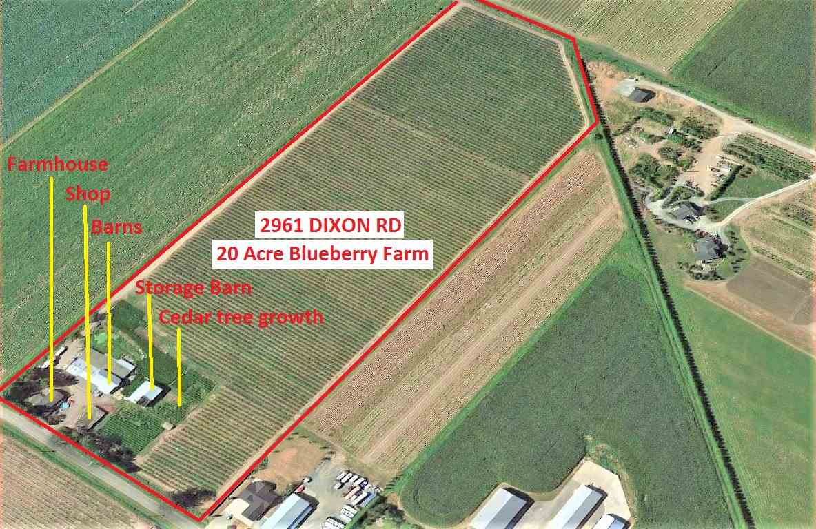 Photo 2: Photos: 2961 DIXON Road in Abbotsford: Sumas Prairie Agri-Business for sale : MLS® # C8011233
