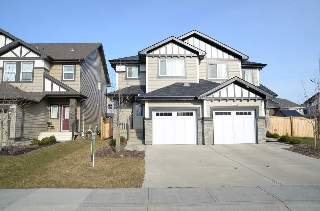 Main Photo:  in Edmonton: Zone 28 House Half Duplex for sale : MLS(r) # E4060720