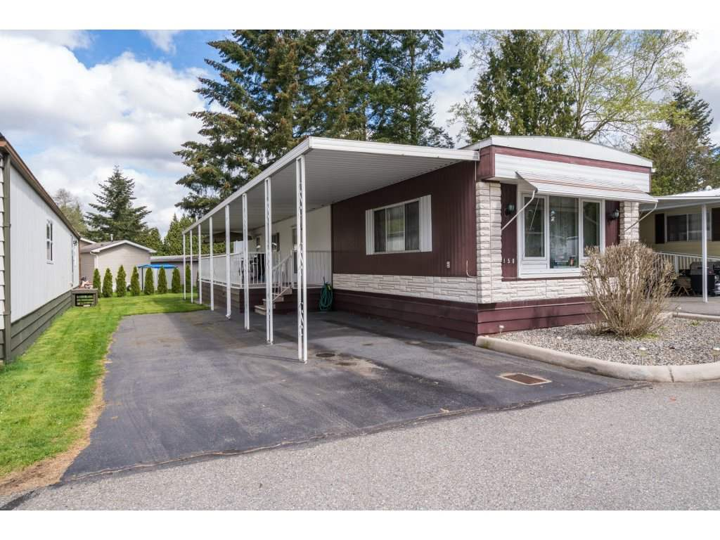 "Main Photo: 150 3665 244TH Street in Langley: Otter District Manufactured Home for sale in ""Langley Grove Estates"" : MLS(r) # R2159936"