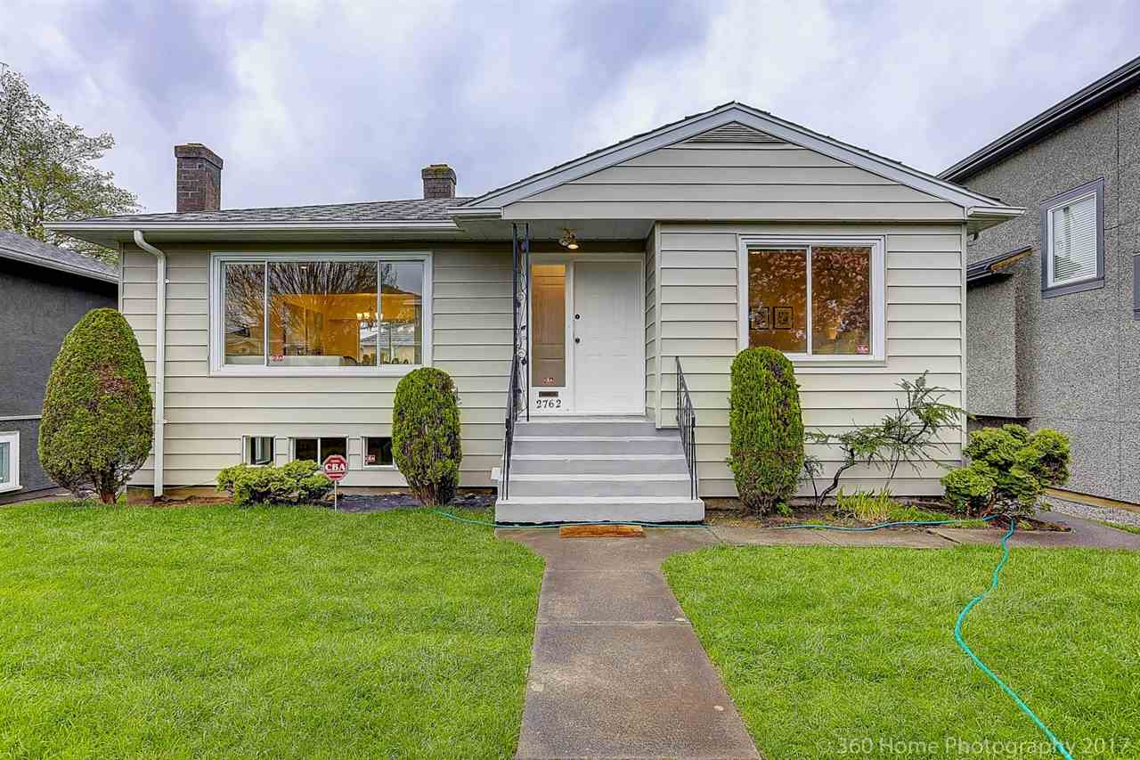Main Photo: 2762 E 52ND Avenue in Vancouver: Killarney VE House for sale (Vancouver East)  : MLS®# R2160904