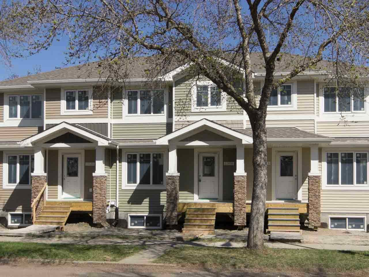 Main Photo: 12618 122 Avenue in Edmonton: Zone 04 Townhouse for sale : MLS(r) # E4066750