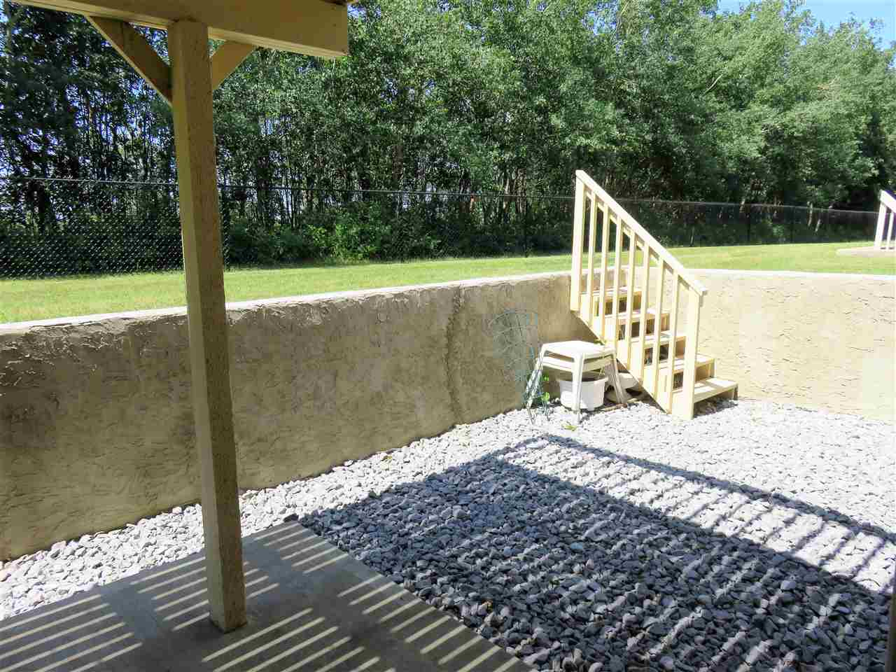 Here is the WALK-OUT BASEMENT PATIO AREA! :)