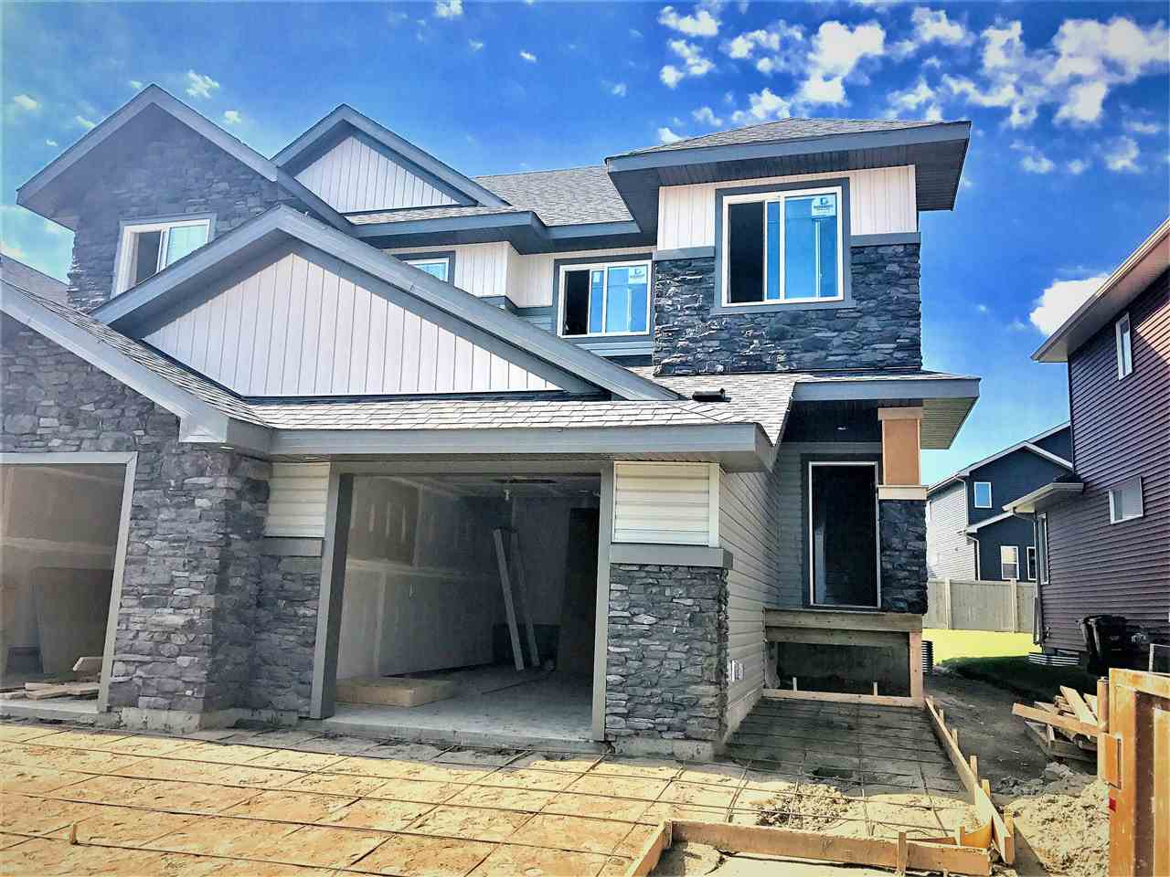 Main Photo: 115 Amberely Way: Sherwood Park House Half Duplex for sale : MLS® # E4077311