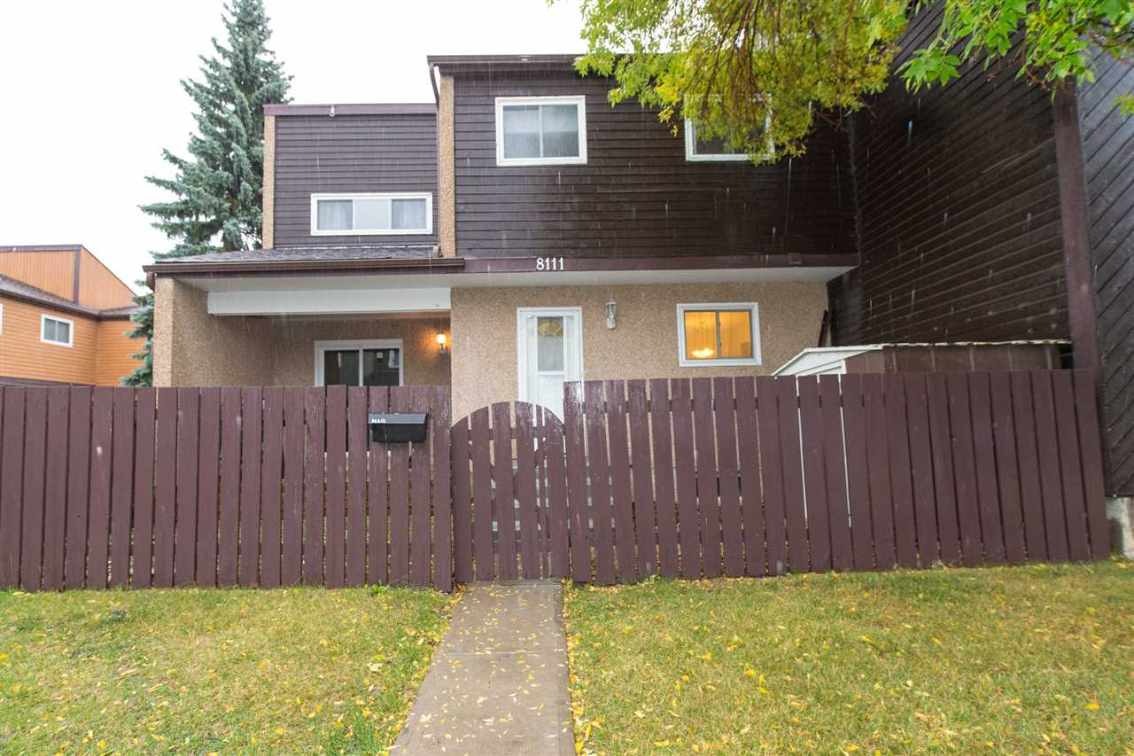 Main Photo: 8111 27 Avenue in Edmonton: Zone 29 Townhouse for sale : MLS® # E4083149