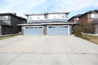 Main Photo: 17704 10 Avenue in Edmonton: Zone 56 House Half Duplex for sale : MLS® # E4085388