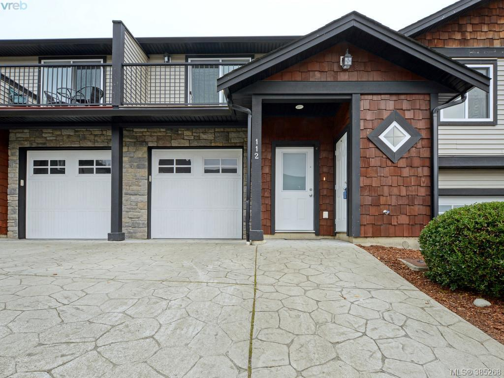 Main Photo: 112 6838 W Grant Road in SOOKE: Sk Broomhill Townhouse for sale (Sooke)  : MLS®# 385268
