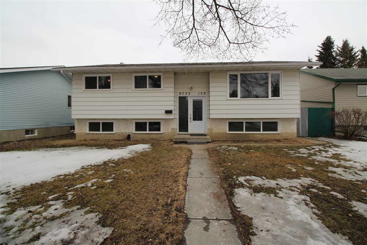 Main Photo: 9723 150 Street NW in Edmonton: Zone 22 House for sale : MLS®# E4105626