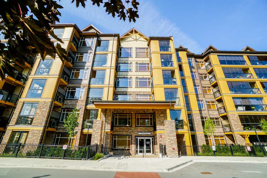 "Main Photo: 311 8157 207 Street in Langley: Willoughby Heights Condo for sale in ""YORKSON CREEK"" : MLS®# R2302080"
