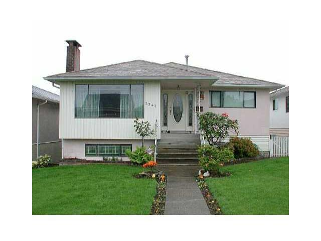 Main Photo: 3342 WELLINGTON Avenue in Vancouver: Collingwood VE House for sale (Vancouver East)  : MLS(r) # V1086818