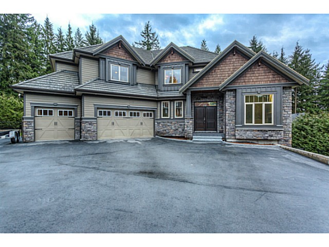 Main Photo: 2182 SUMMERWOOD Lane: Anmore House for sale (Port Moody)  : MLS® # V1106744