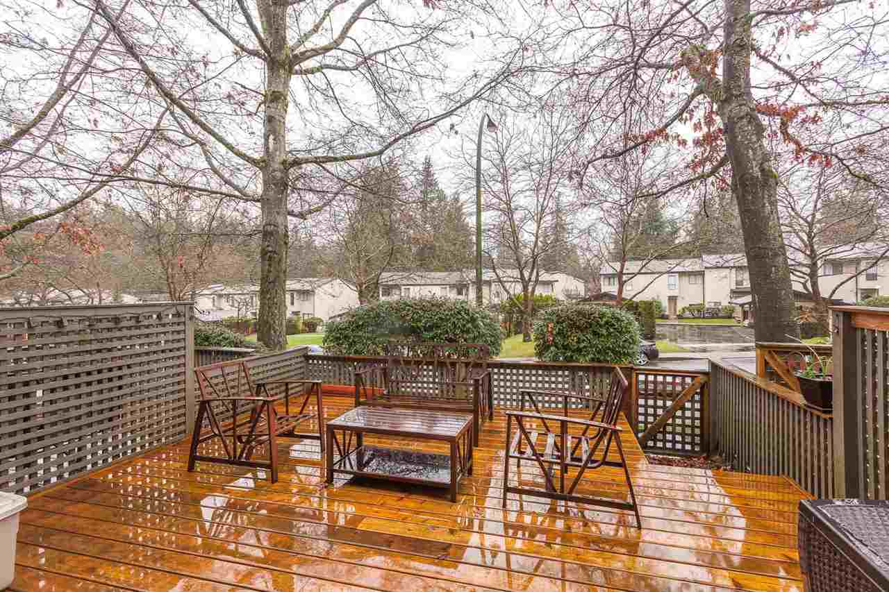 "Main Photo: 49 1910 CEDAR VILLAGE Crescent in North Vancouver: Westlynn Townhouse for sale in ""MOUNTAIN ESTATES"" : MLS® # R2019374"