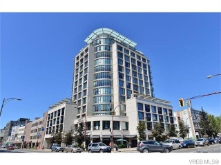 Main Photo: 807 760 Johnson Street in VICTORIA: Vi Downtown Condo Apartment for sale (Victoria)  : MLS® # 373849