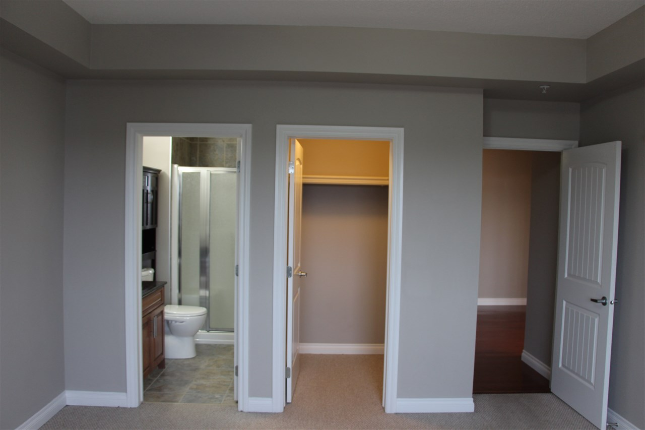Master suite with ensuite and walk-in closet