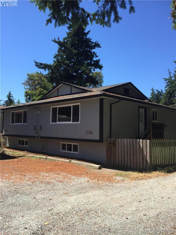 Main Photo: A & B 3158 Metchosin Road in VICTORIA: Co Wishart North Revenue Duplex for sale (Colwood)  : MLS(r) # 379783