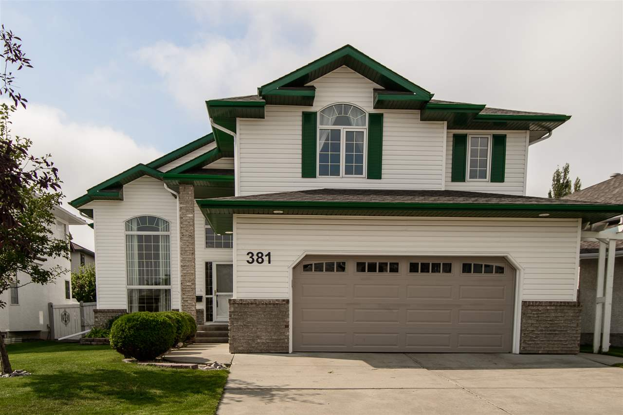 Main Photo: 381 MEADOWVIEW Terrace NW: Sherwood Park House for sale : MLS® # E4076906