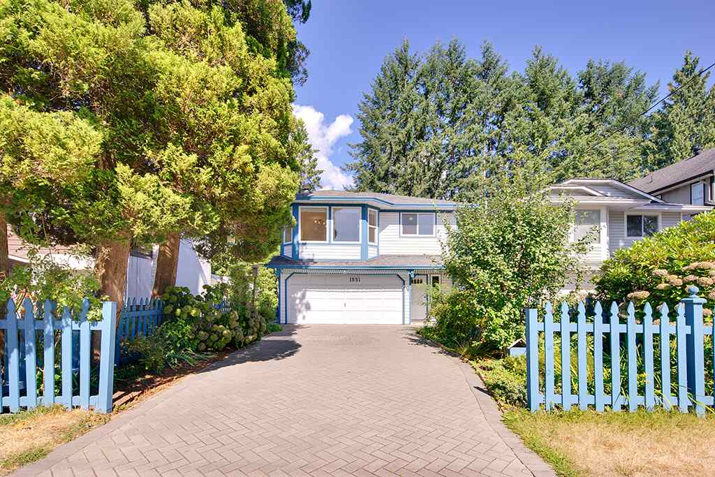 Main Photo: 1551 COQUITLAM Avenue in Port Coquitlam: Glenwood PQ House for sale : MLS® # R2205019