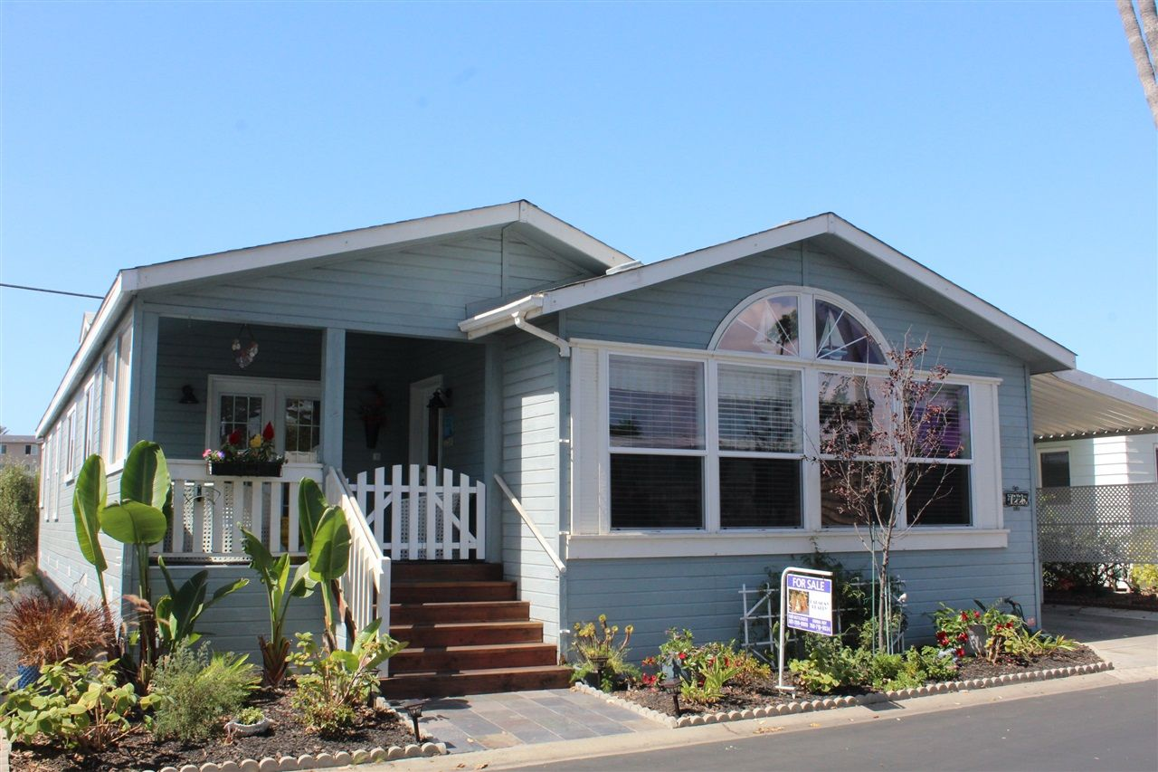 Main Photo: CARLSBAD WEST Manufactured Home for sale : 3 bedrooms : 7225 San Luis #177 in Carlsbad