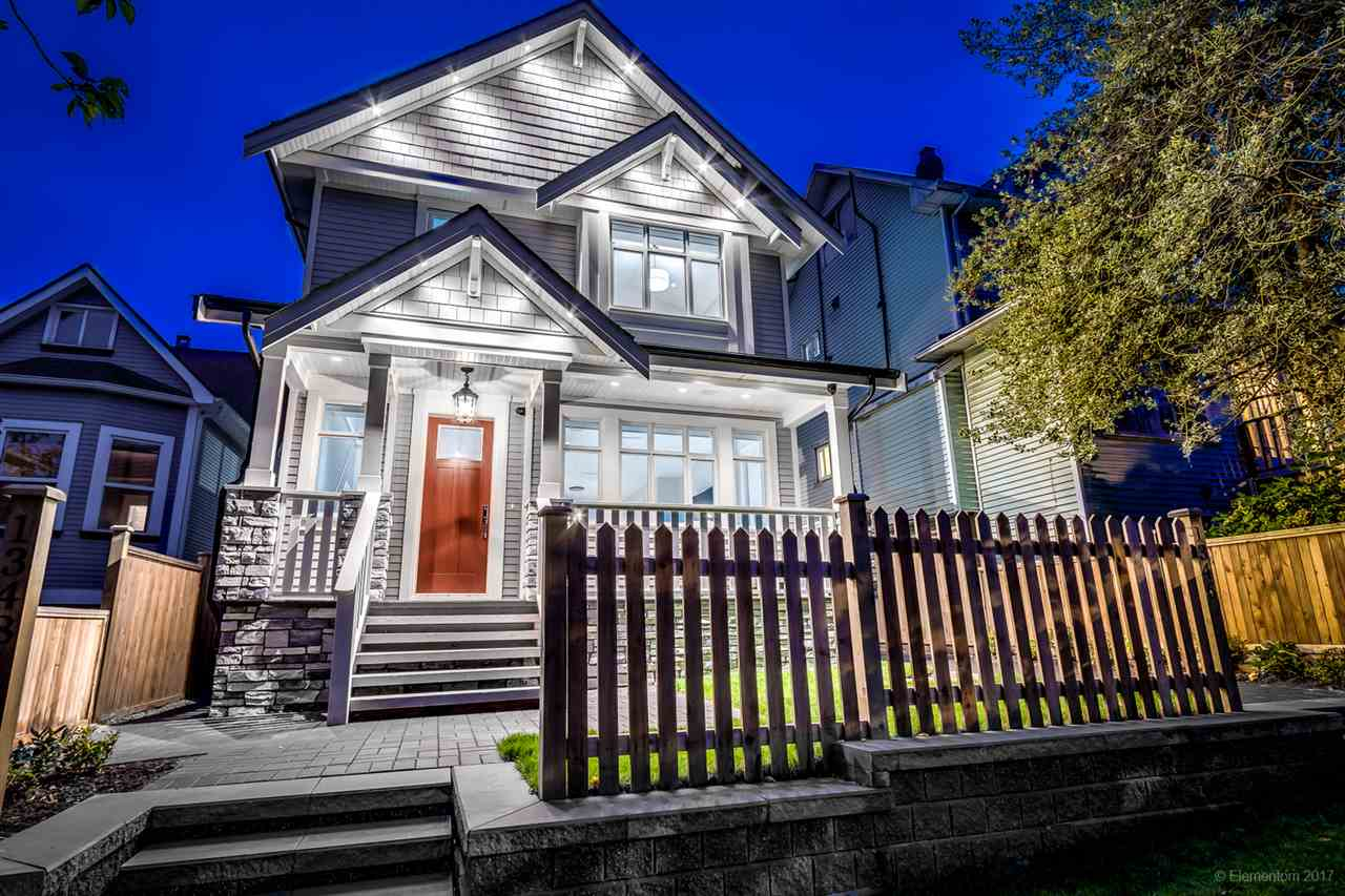 Main Photo: 1348 E 18TH Avenue in Vancouver: Knight House 1/2 Duplex for sale (Vancouver East)  : MLS® # R2214853
