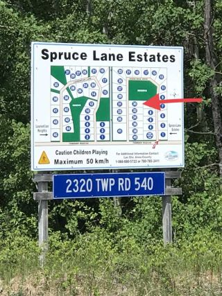 Main Photo: 30 2320 Spruce Lane Estates: Rural Lac Ste. Anne County Rural Land/Vacant Lot for sale : MLS®# E4113396