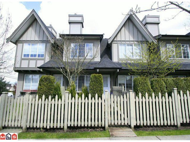 Main Photo: 65 8775 161 Street in Surrey: Fleetwood Tynehead Townhouse for sale : MLS® # F1111147