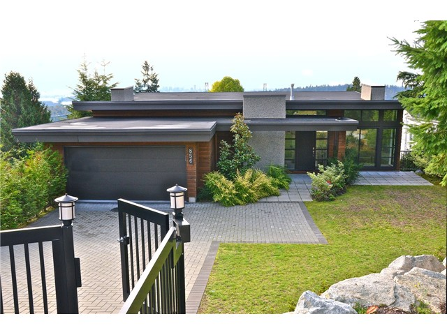 Main Photo: 856 ANDERSON Crescent in West Vancouver: Sentinel Hill House for sale : MLS® # V1030765