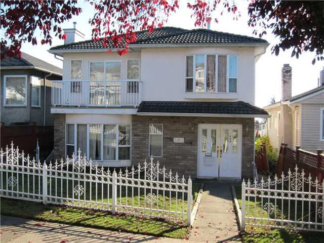 Main Photo: 580 E 56TH Avenue in Vancouver: South Vancouver House for sale (Vancouver East)  : MLS®# V1039086