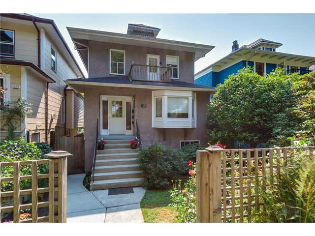 "Main Photo: 1370 E 10TH Avenue in Vancouver: Grandview VE House for sale in ""COMMERCIAL DRIVE"" (Vancouver East)  : MLS(r) # V1085115"
