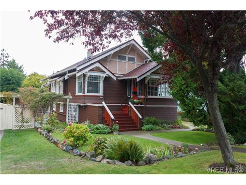 Photo 1: 1057 Monterey Avenue in VICTORIA: OB South Oak Bay Single Family Detached for sale (Oak Bay)  : MLS(r) # 342614