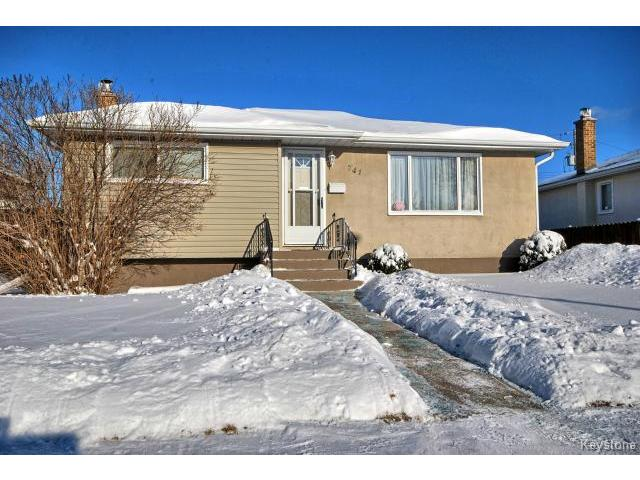 Main Photo: 741 Prince Rupert Avenue in WINNIPEG: East Kildonan Residential for sale (North East Winnipeg)  : MLS® # 1500262