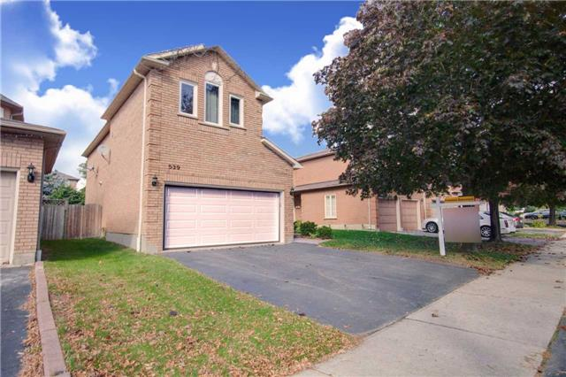 Main Photo: 539 Tipton Court in Mississauga: Hurontario House (2-Storey) for sale : MLS® # W3363374