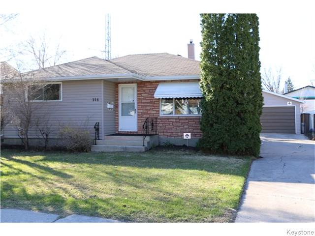 Main Photo: 154 Moore Avenue in Winnipeg: St Vital Residential for sale (South East Winnipeg)  : MLS® # 1610353