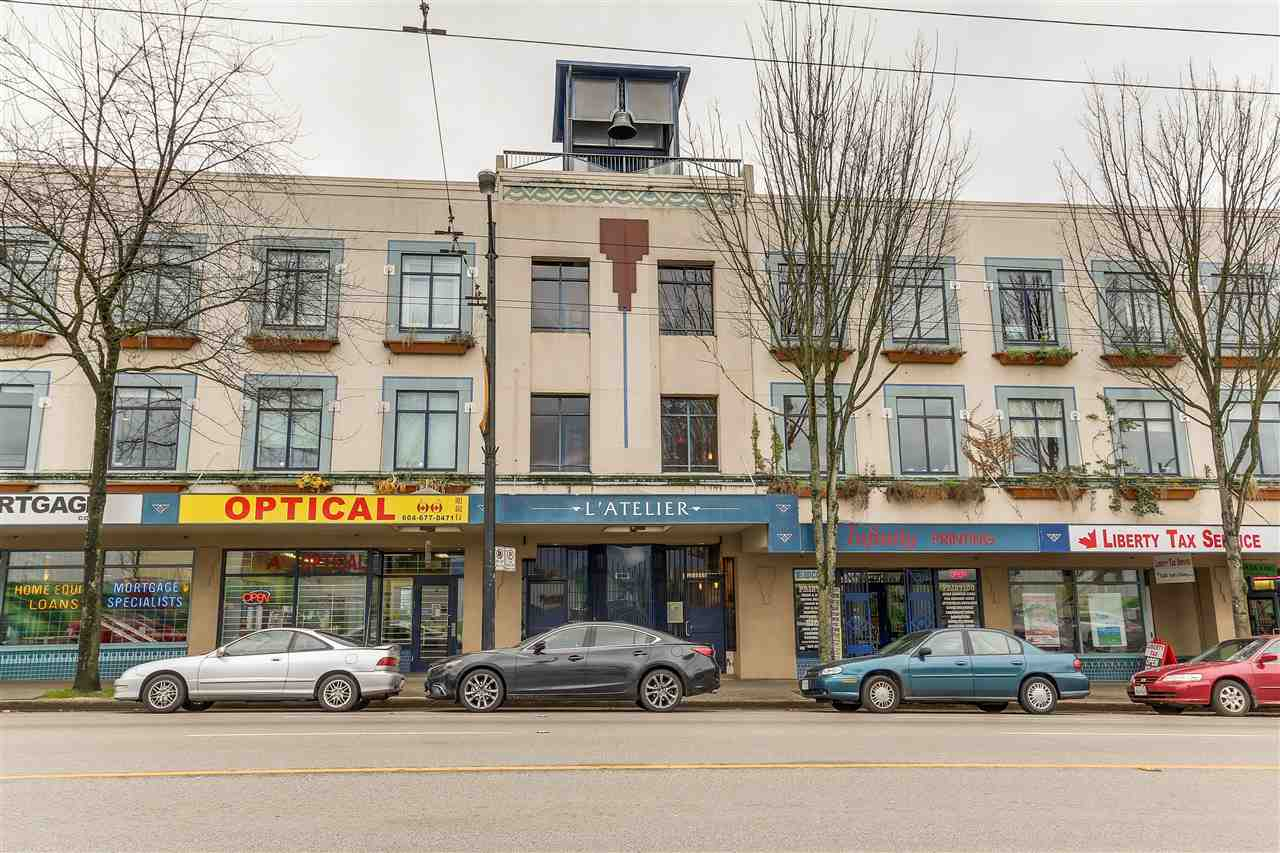 "Main Photo: 117 2556 E HASTINGS Street in Vancouver: Renfrew VE Condo for sale in ""L'ATELIER"" (Vancouver East)  : MLS® # R2119041"