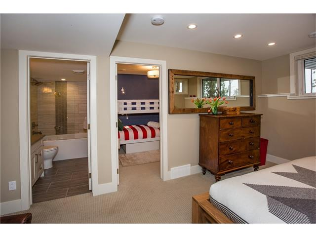 Lower Level Flex Area, Full Bath & Second Bedroom