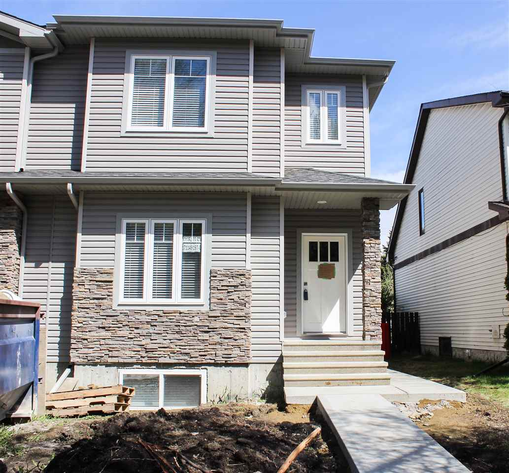 Main Photo: 12135 103 Street in Edmonton: Zone 08 House Half Duplex for sale : MLS(r) # E4046479