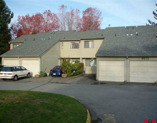 Main Photo: 2 9970 149TH STREET in : Guildford Townhouse for sale : MLS(r) # F2925041