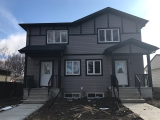 Main Photo: 11935 47 Street in Edmonton: Zone 23 House Half Duplex for sale : MLS(r) # E4059213