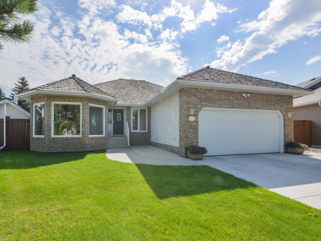 Main Photo: 410 Butchart Drive NW in Edmonton: House for sale : MLS® # e4055980