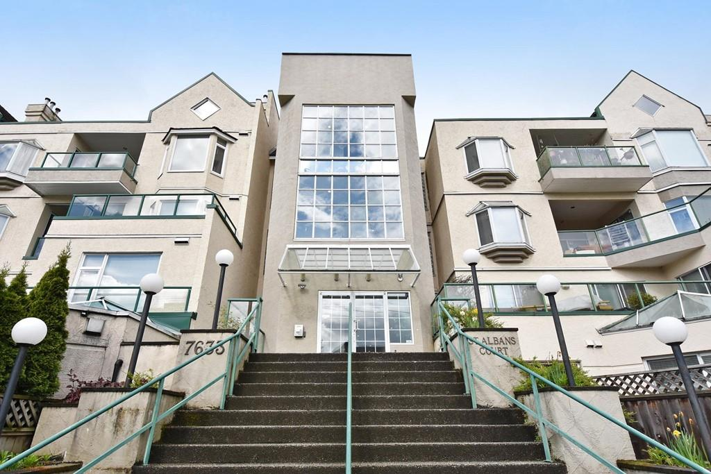 "Main Photo: 214 7633 ST. ALBANS Road in Richmond: Brighouse South Condo for sale in ""ST. ALBAN'S COURT"" : MLS(r) # R2169397"